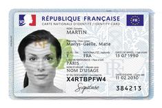 Demande de carte nationale d'identité
