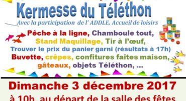 TELETHON 2 ET 3 DECEMBRE 2017