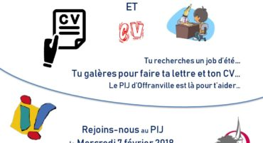 "Atelier ""CV et Lettre de motivation"""