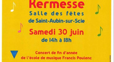 Concert et kermesse de l'école de musique Francis Poulenc samedi 30 juin