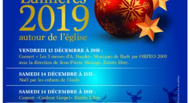 FETE DES LUMIERES LES 13 ET 14 DECEMBRE 2019